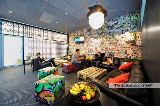 Downgraf - Imaginative Google Office of Zurich(24)