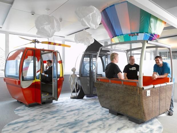 Downgraf - Imaginative Google Office of Zurich(30)