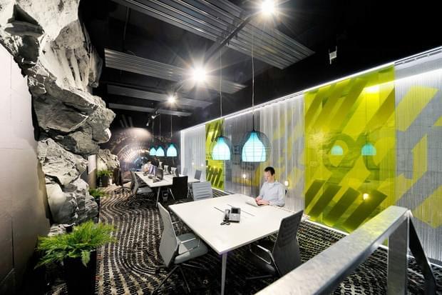 Downgraf - Imaginative Google Office of Zurich(34)