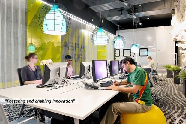 Downgraf - Imaginative Google Office of Zurich(35)
