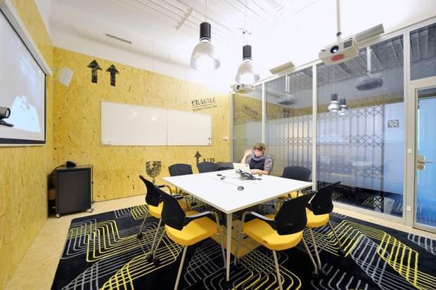 Downgraf - Imaginative Google Office of Zurich(37)