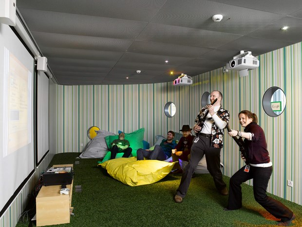 Downgraf - Imaginative Google Office of Zurich(6)