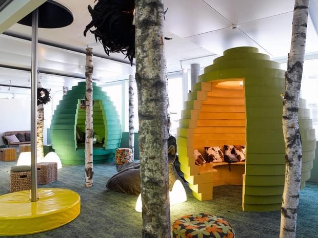 Downgraf - Imaginative Google Office of Zurich(8)