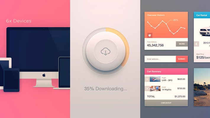Friday Freebies – Free PSD Files For Designers #24 1
