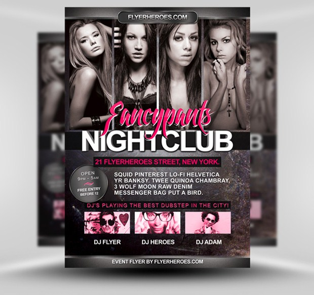 Party Flyer PSD 17