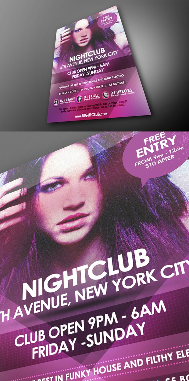 Party Flyer PSD 21