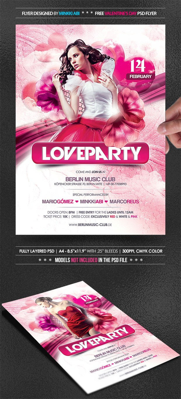 Party Flyer PSD 26