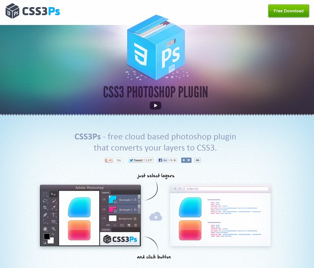 Photoshop Plugin for Web Designers (1)