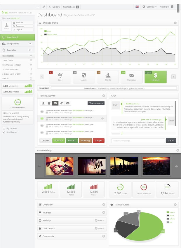 20 Perfect Admin Template of Your Next Project (10)