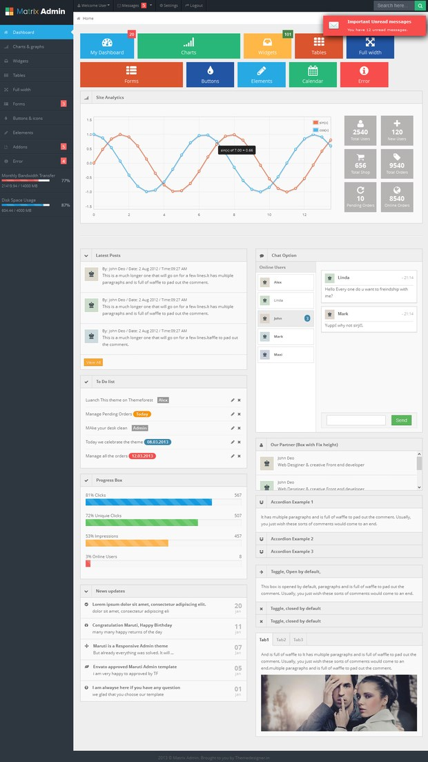 20 Perfect Admin Template of Your Next Project (20)