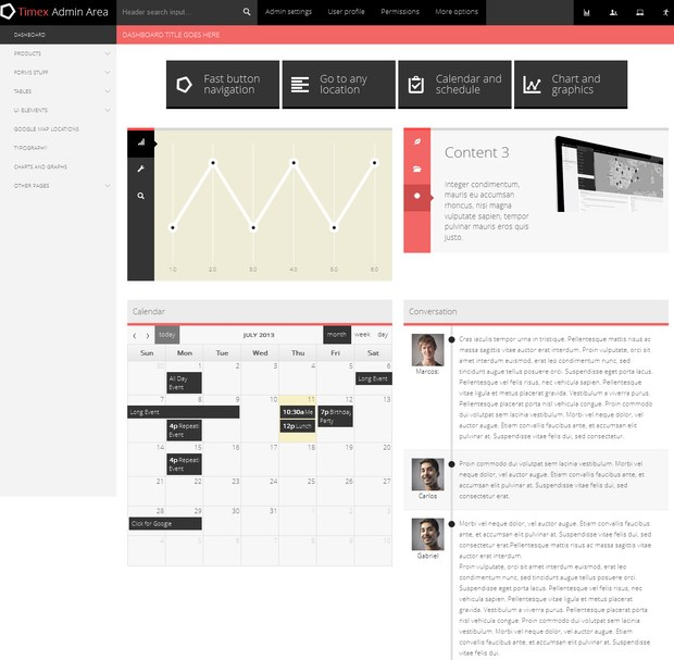 20 Perfect Admin Template of Your Next Project (9)