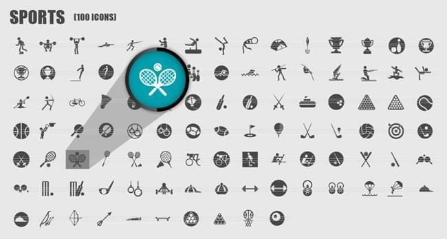 Glyphocean-sports