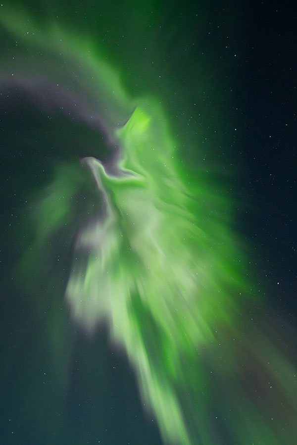 Aurora-Explosion