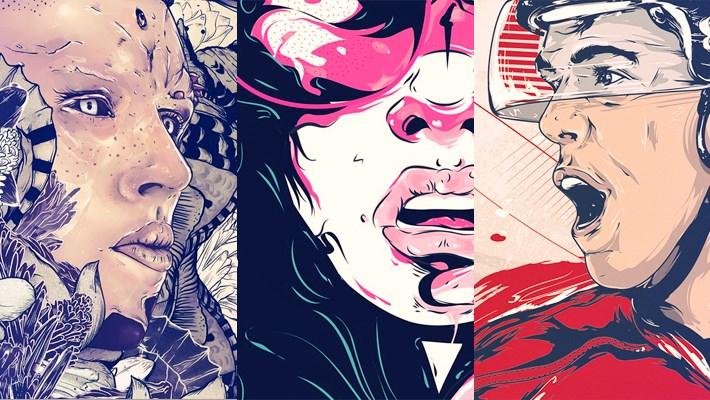 Digital Art Design Inspiration Series 14