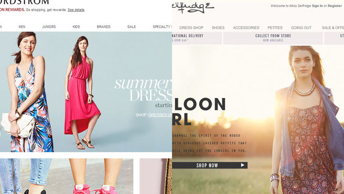 26 Most Elegant Websites inspired by Fashion 1