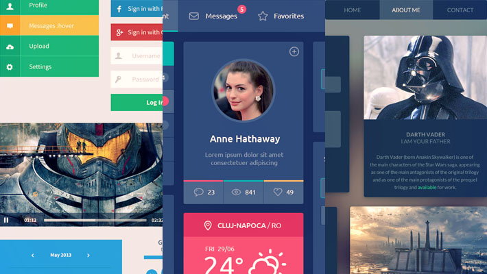 Friday Freebies – Free PSD Files For Designers #27 6