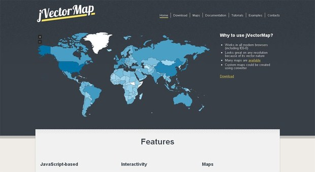 JQVMap - jQuery Vector Maps