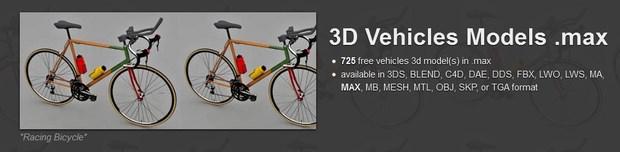 Vehicles 3D Models max