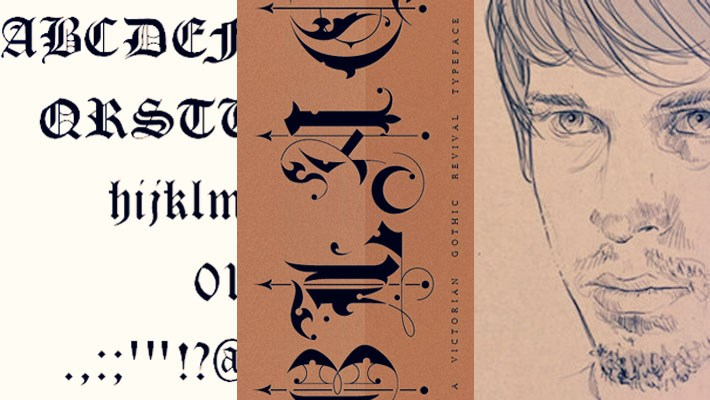 45 Terrifying Gothic Fonts For Designers 2