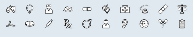 Medical (20 icons)