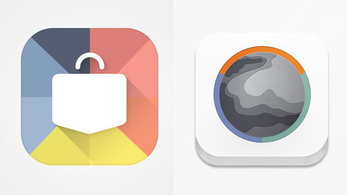 A Collection of Beautiful, Colourful App Icons 1