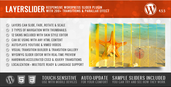 LayerSlider Parallax WordPress Slider Plugin