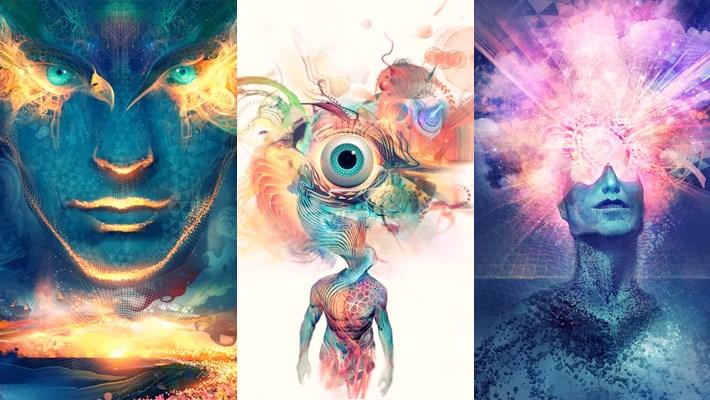 Stunning Digital Artwork by Android Jones
