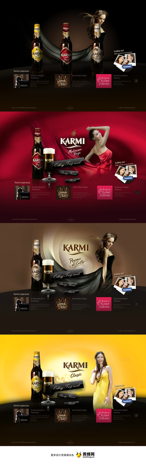 karmi web design inspiration