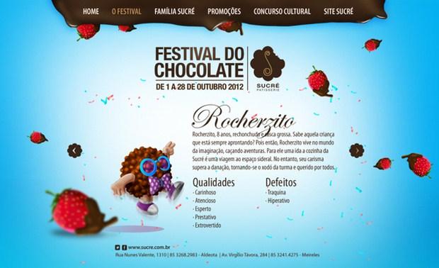 Sucré Patisserie · Chocolate Festival Hotsite