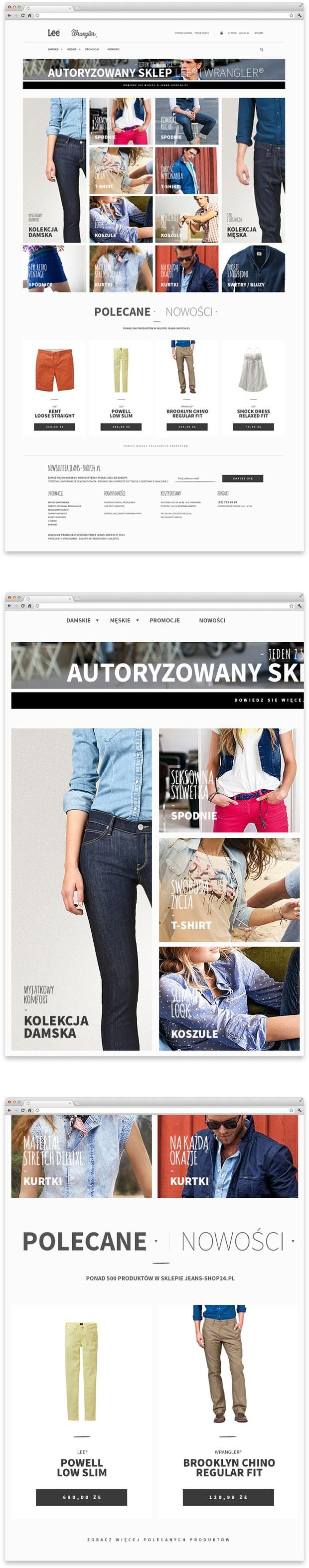Jeans Shop - Lee & Wrangler