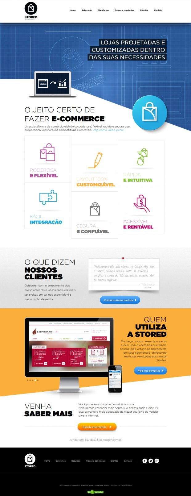 Stored E-commerce