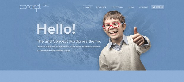 Concept 2 - Creative & Stunning WordPress Theme