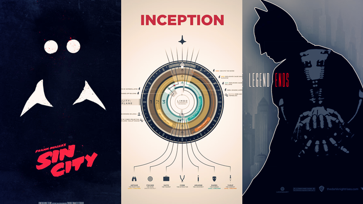 Examples of Cleverly Redesigned Movie Posters 4