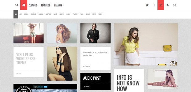 UpNews WordPress Theme