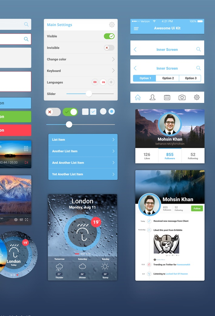 26-Awesome UI Kit