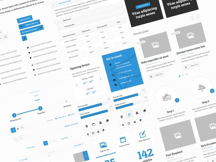 27-BeTheme Free UI Kit