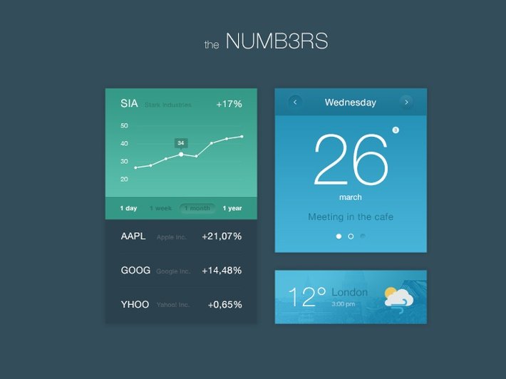 28-Numbers UI Kit (2)