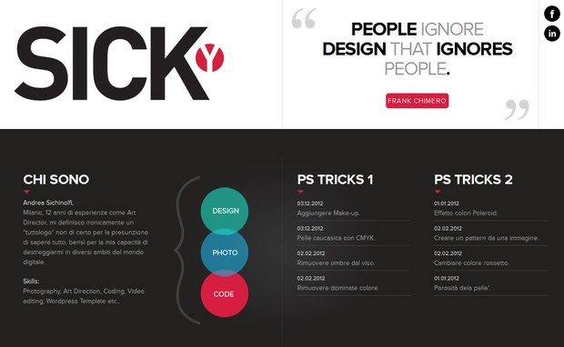 Examples of Parallax Web Design