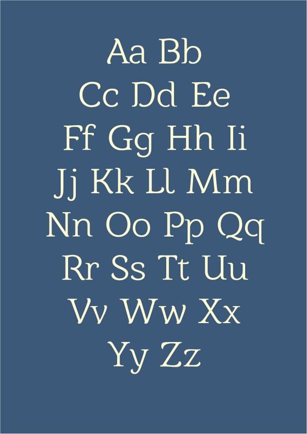 Barkentina Typeface and Free Font