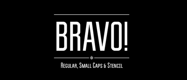 Bravo! Free Typface