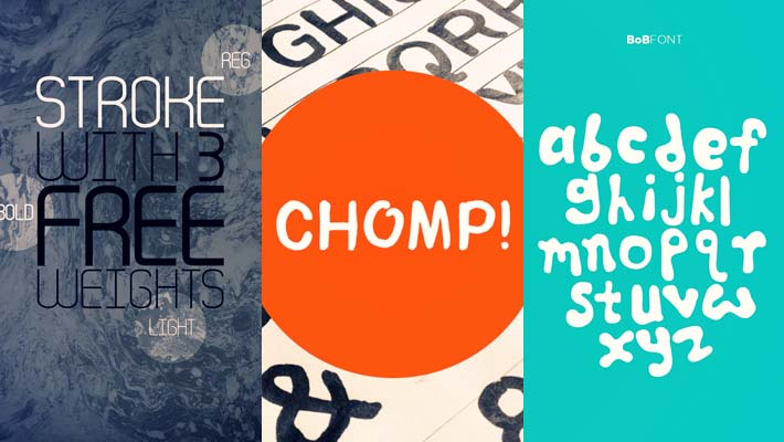 40+ High Quality Free Fonts For Designers 1