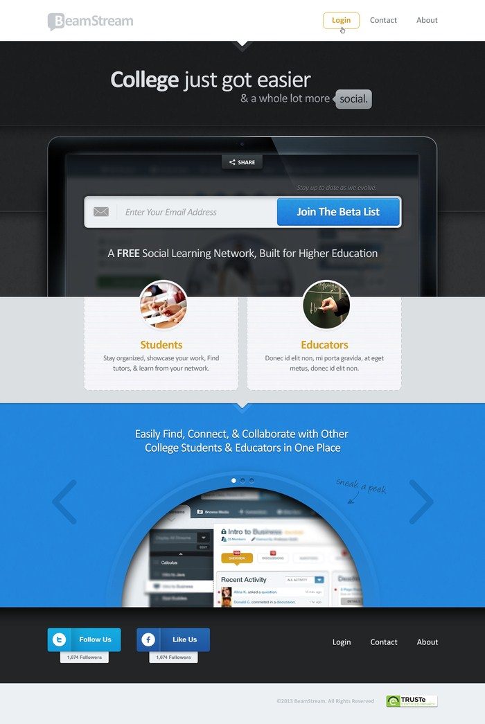 Landing Pages Design 02