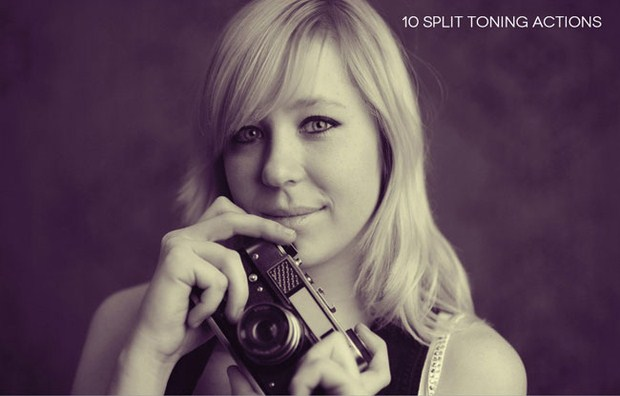 Split Toning Actions