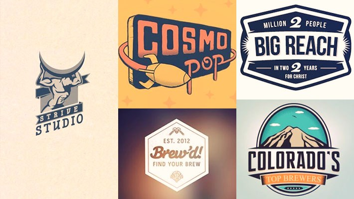 Retro Logo Design Inspiration