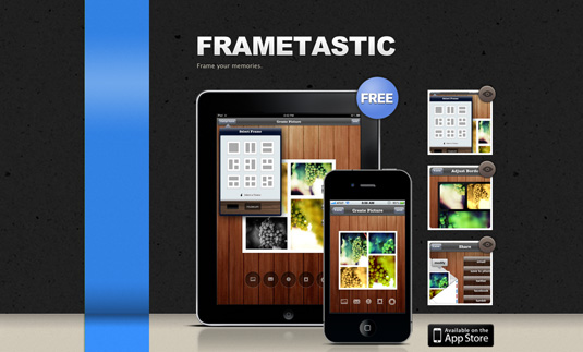 Frametastic iPhone Apps For Graphic Designers
