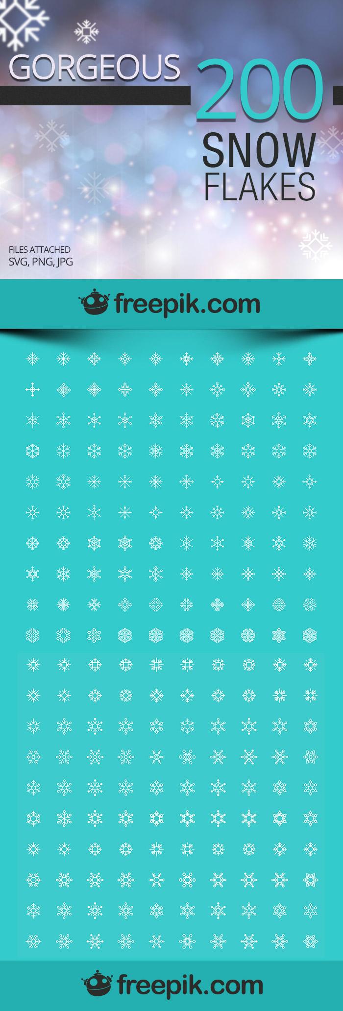 Free Snowflakes Icons