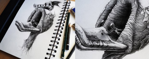 pencil sketches