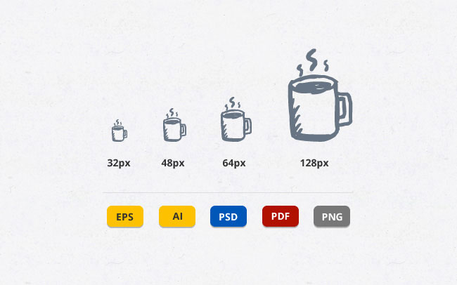 Hand-Drawn Vector Icons