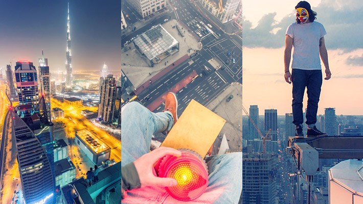 Rooftopping Photography Inspiration