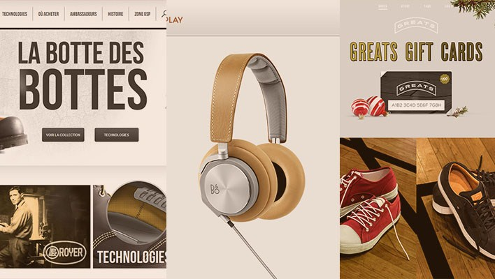 E-commerce Website Design Inspiration